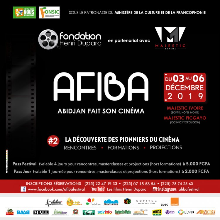 AFIBA 2019 : Abidjan fait son cinéma