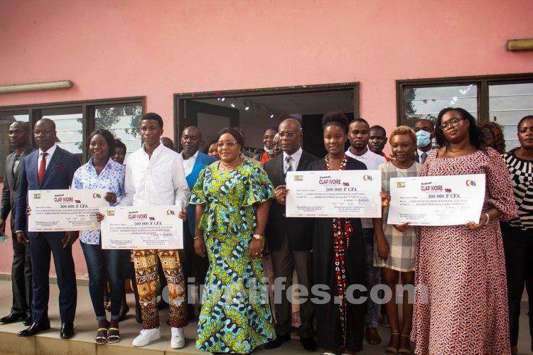 Clap Ivoire 2021: RECOMPENSE DES LAUREATS NATIONAUX